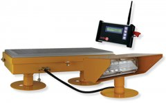 Radio Controlled Solar Helipad Flood Light