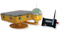 Radio Controlled Solar Helipad Light