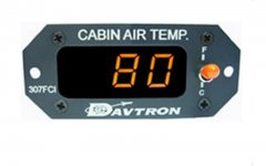 M307FCI Digital Cabin Air Temperature Gauge