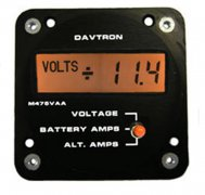 M475VAA Digital Volt/Amp/Alternator Meter
