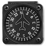 PAI700-14 Vertical Card Magnetic Compass 14V