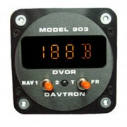 903 Digital VOR Indicator Clock Mount w/Ident