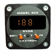903 Digital VOR Indicator Clock Mount