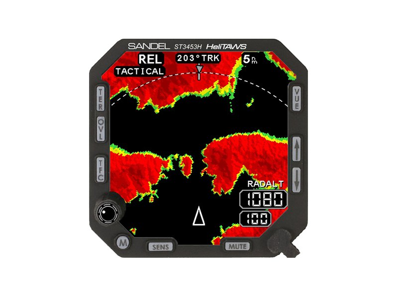 ST3453H HELITAWS MIL-STD TERRAIN AWARENESS & WARNING SYSTEM